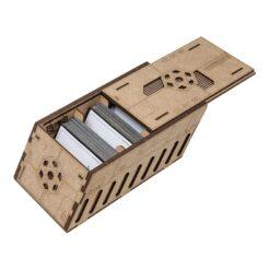 Deck holder (250 standard size sleeved cards)