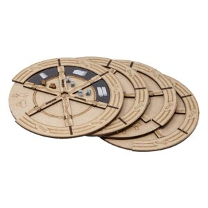 Barrage - 4 construction wheels set