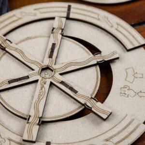 Barrage – 4 construction wheels set