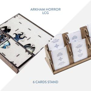 Arkham Horror LCG Insert + 6 Cards Stand – Bundle
