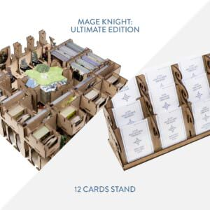 Mage Knight Ultimate + 12 Cards Stand – Bundle