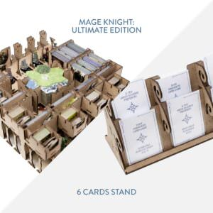 Mage Knight Ultimate + 6 Cards Stand – Bundle