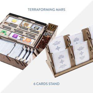 Terraforming Mars + 6 cards stand – Bundle