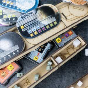 Organizer Terraforming Mars All In One Box. Prelude; Venus Next; Hellas & Elysium; Colonies; Turmoil