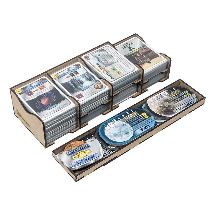 Insert Terraforming Mars All In One Box. Prelude; Venus Next; Hellas & Elysium; Colonies; Turmoil