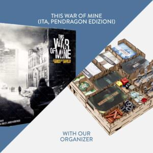 This War of Mine (ITA, Pendragon Edizioni) + Organizer – Bundle