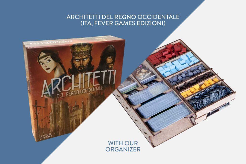 Architetti del Regno Occidentale (ITA, Fever Games Edizioni) + Organizer – Bundle