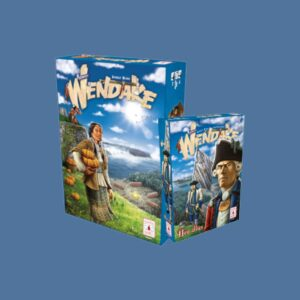 Wendake + New Allies expansion (Post Scriptum Edizioni) + Organizer – Bundle