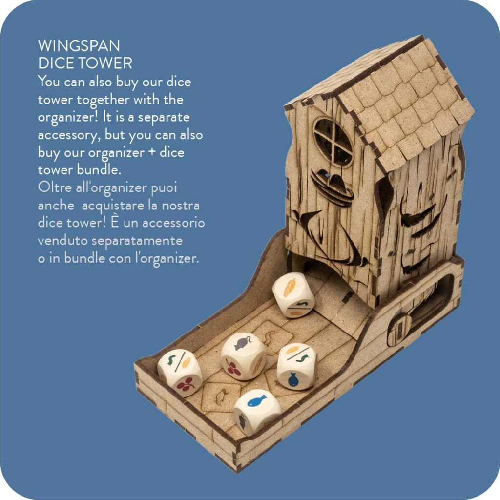 Accessories Wingspan Dice Tower The Dicetroyers