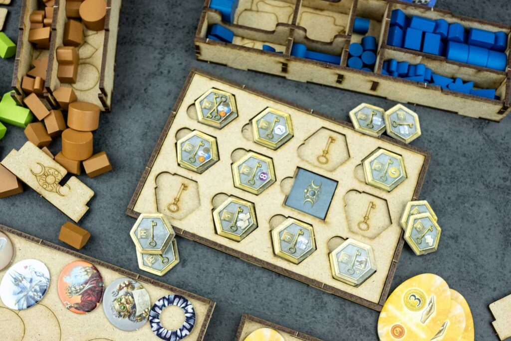 Organizer Terra Mystica All in The Dicetroyers