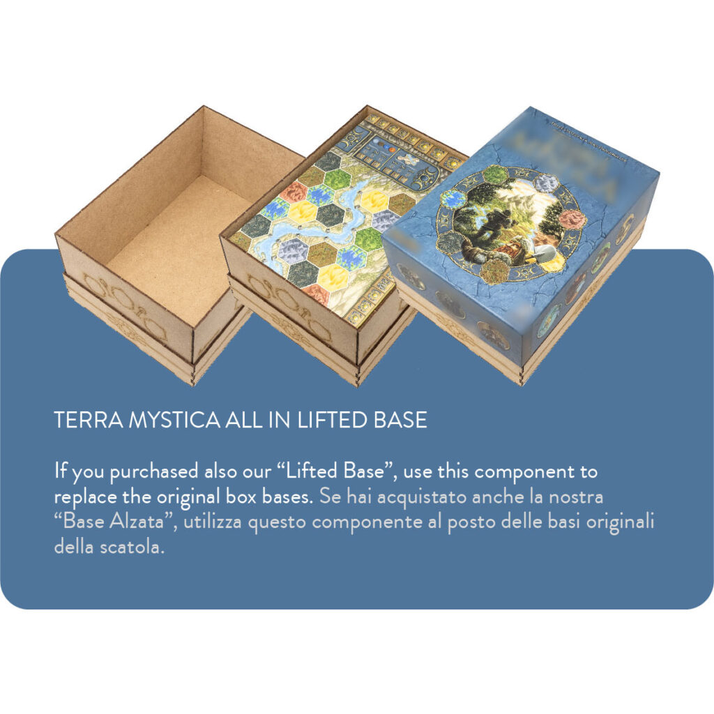 Organizer Insert Terra Mystica All in Lifted base The Dicetroyers