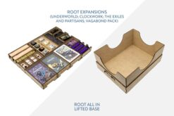 Root Expansions + lifted base – Bundle