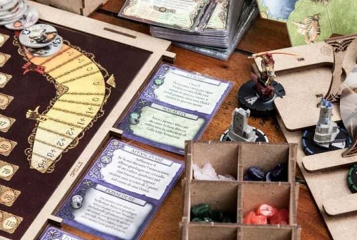 Organizer Insert Mage Knight Ultimate Edition The Dicetroyers