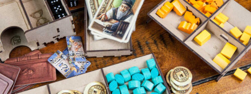 Organizer Insert Marco Polo 2 In the service of the Khan The Dicetroyers