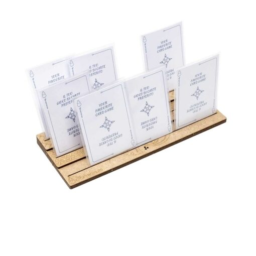 Pick and play card holder – Triple row